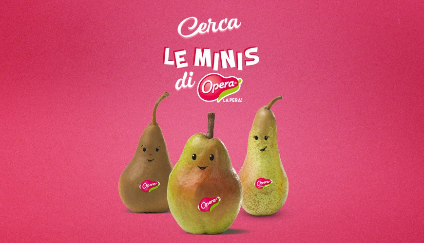Eat healthily and have fun with LE MINIS from Opera