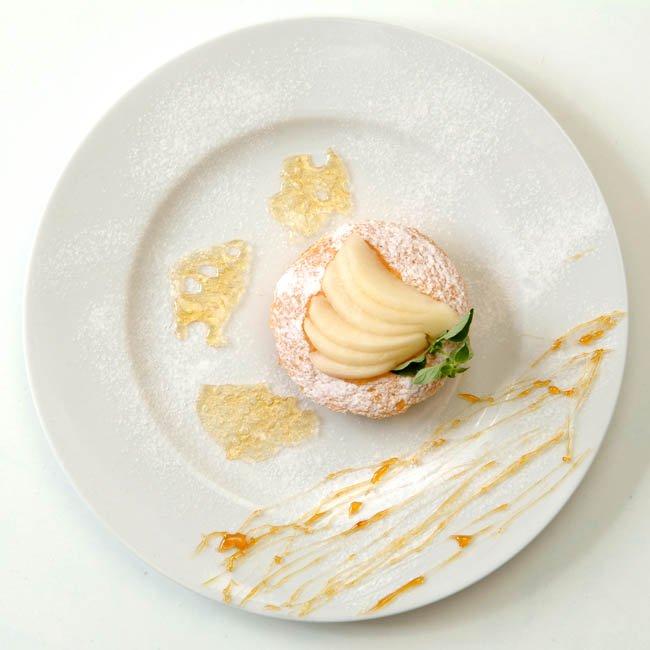 Ricetta torta al mascarpone con pere Abate