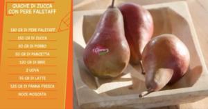 Riepilogo ingredienti per preparazione ricetta Quiche con Pere Falstaff